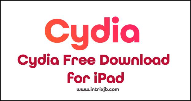 cydia download for ipad