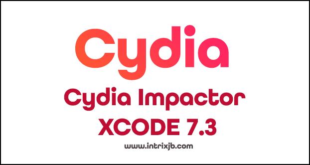 Cydia Impactor XCODE 7.3