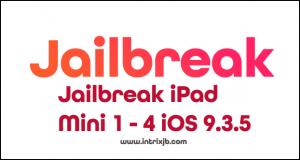 jailbreak ipad mini 1