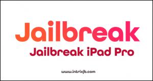 jailbreak ipad pro