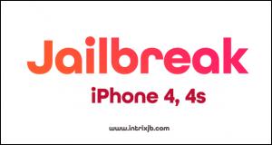 Jailbreak iPhone 4, 4S